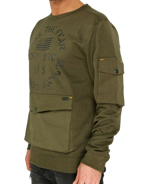 Soul Star MSW Tortilla Hoody OLIVE