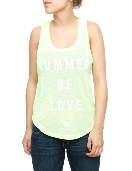 Ladies Quenza Tank Top Yellow