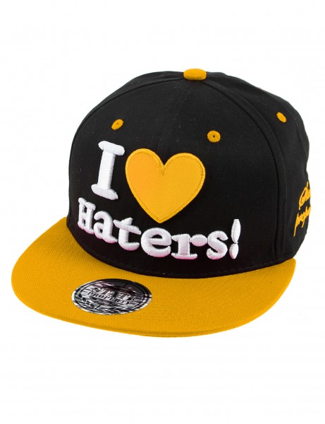 State Property I Love Haters Cap Black Yellow