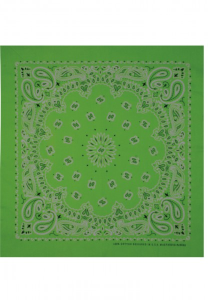 MSTRDS Bandana darkgreen 10000-00877 Dark Green