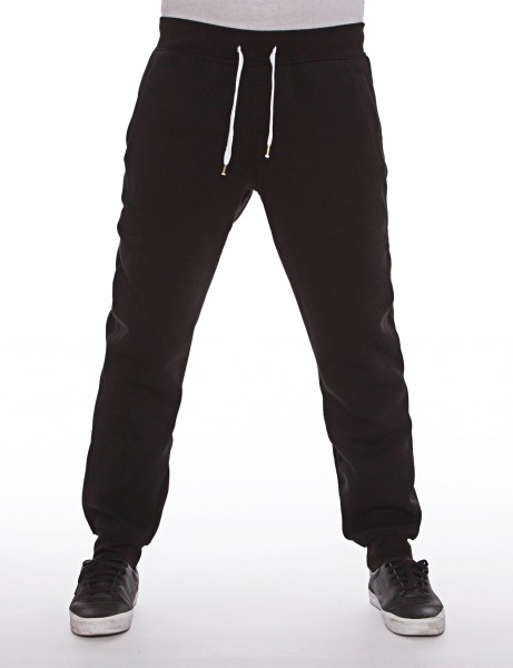 Southpole Basic Fleece Sweatpants Black