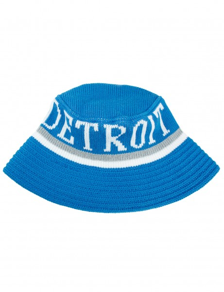 Cityhunter Detroit Knitted Bucket Hat BD1650 Royal Blue