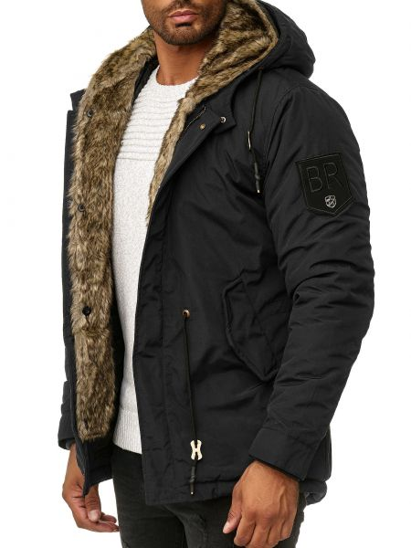 Blackrock Mens Winter Jacket 1812 Black