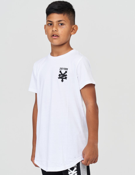 Zoo York ZSK90511 Kids Pipe T-shirt Optic White