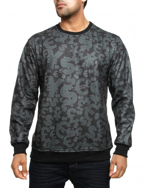 Imperious Money Tree Sweatshirt CS534 Black