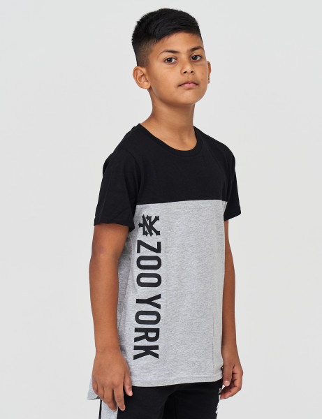 Zoo York ZSK90513 Kids Vert T-shirt Athletic Grey Marl