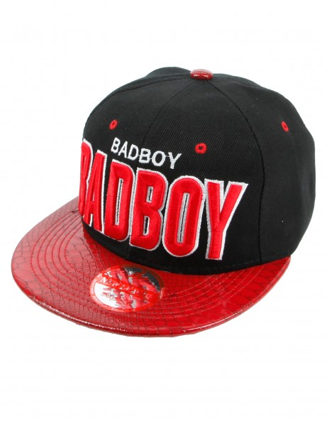 New League Badboy Snapback Black