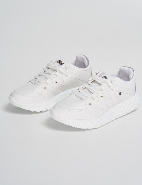Cash Money Trainers CMS-180 White Reflect