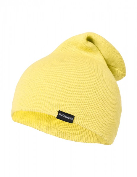 Neon Long Beanie Yellow