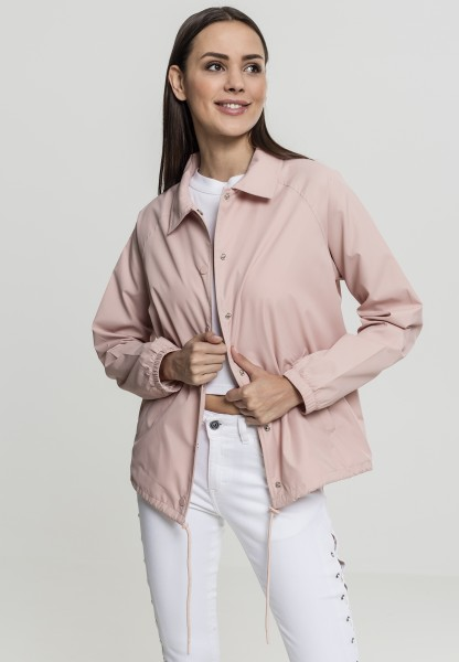 Urban Ladies Coach Jacket LightRose TB2018-00823 Pink