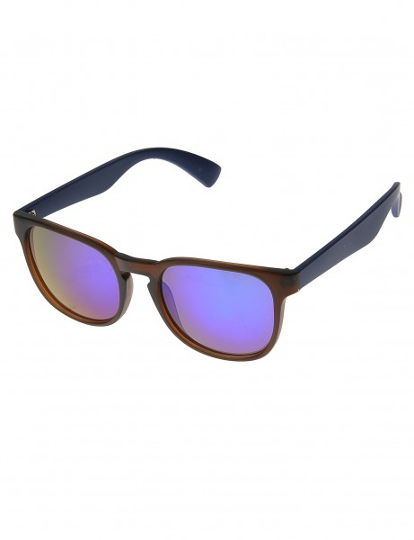 Sunglasses 023832VH Blue Brown
