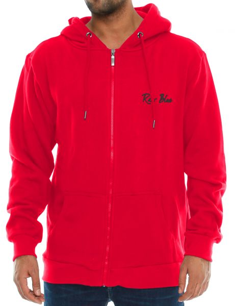 Raw Blue Zip Hoody RB6-ZH802 Red