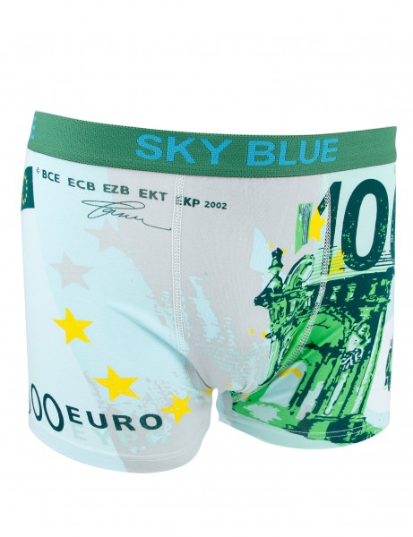 Sky Blue 100 Boxers M-2085 Green