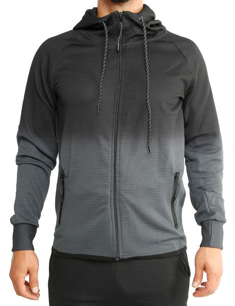 Cabin Zip Hoody 1058 Grey Black