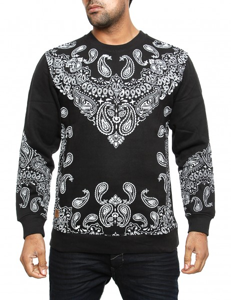 Imperious Bandana Sweatshirt CS46 Black