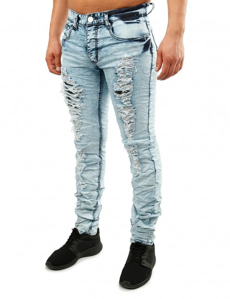 Justing Slim Fit Jeans ST-5040 Light Blue