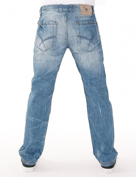Le Scorp Denim Jeans Blue