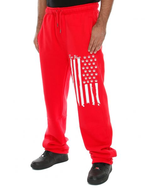 Raw Blue Sweatpant RB6-SPP-004 Red