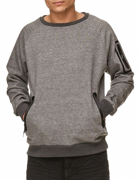 Soul Star MSW-Cairo Sweater Grey