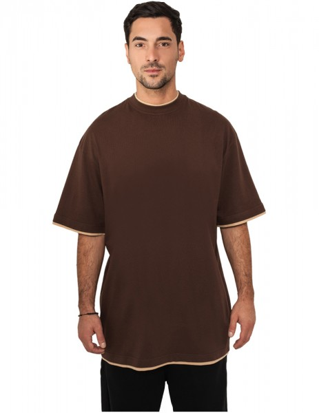 Contrast Tall Tee TB029A bro/bei Brown