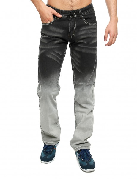 Imperious Denim Jeans DP526 Blue Black