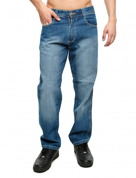 Southpole Relaxed Fit Denim Md.Sand Blue