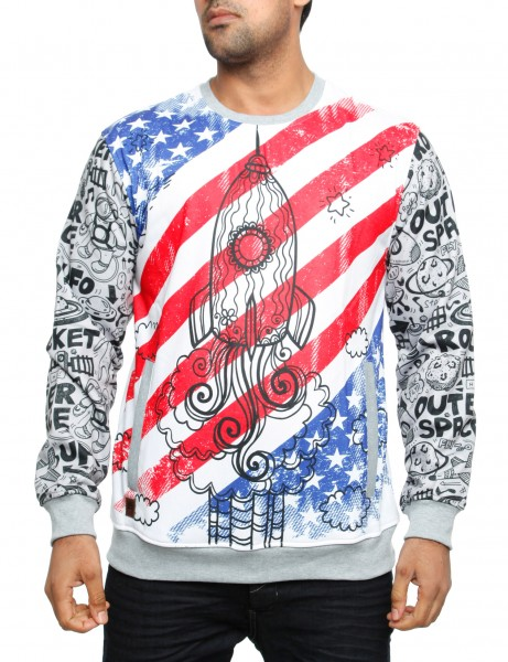 Imperious Lift Off Sweatshirt CS554 White