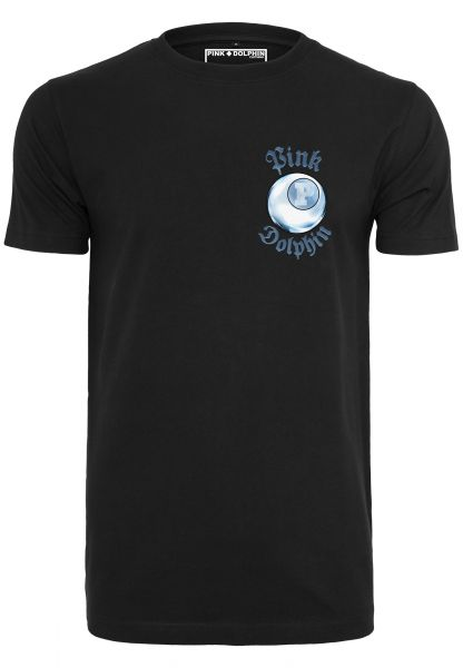 Pink Dolphin 8-Ball Reflection Tee PD002-00007 Black