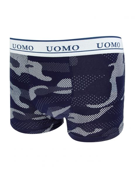 Crazy Men Boxershorts 8910 White Blue