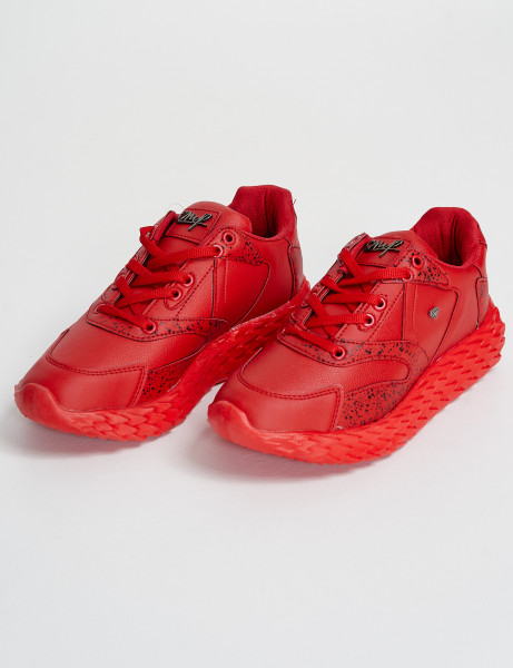 Cash Money Trainers CMS-181 Red