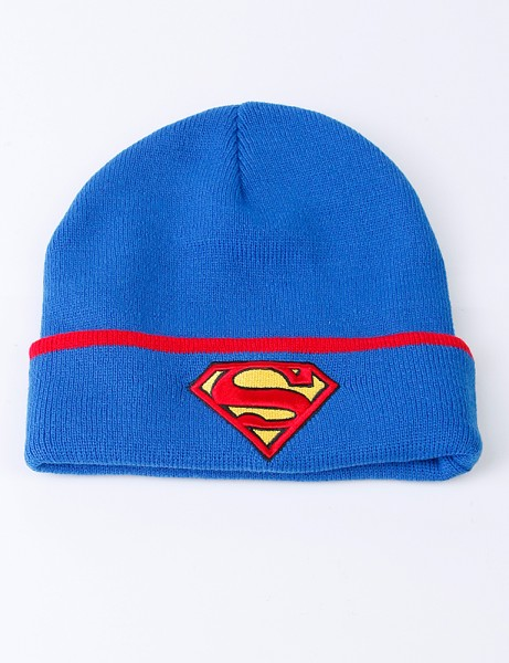 Superman Beanie Blue