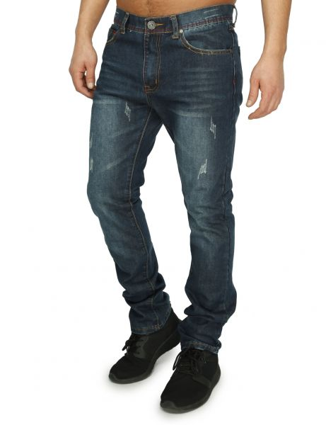 Soul Star MP Charge Jeans Indigo Blue