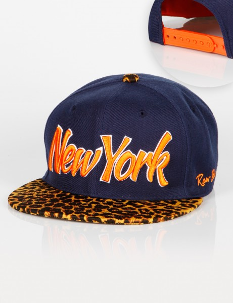 New York Leo Snapback Navy