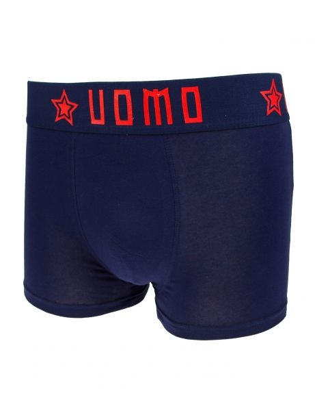 Crazy Men Boxershorts 8911 Navy Red