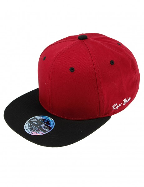 Raw Blue Two Tone Snapback RBC-939 Burgundy