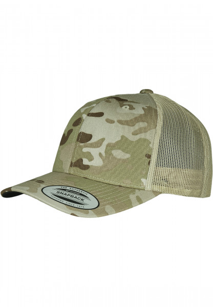MENS Basic Retro Trucker Multicam® khaki multicam 6606MC-22557