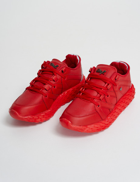Cash Money Trainers CMS-180 Red Reflect