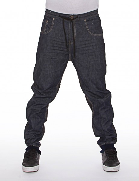 Royal Blue Denim Sweatpant Blue