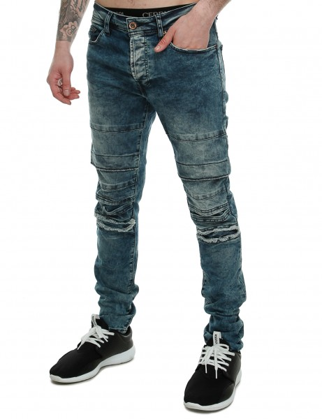 Free Side Amazon Jeans Blue