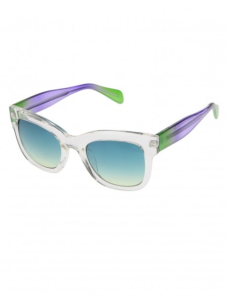 Sunglasses 023932 Transparent Green