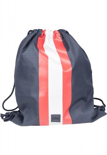 Urban Classics Striped Gym Bag TB2256-01224 Navy