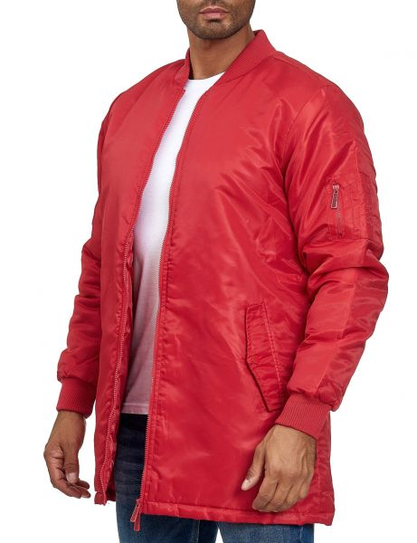 Soul Star MJ-MA1 MID Bomber Jacket Red