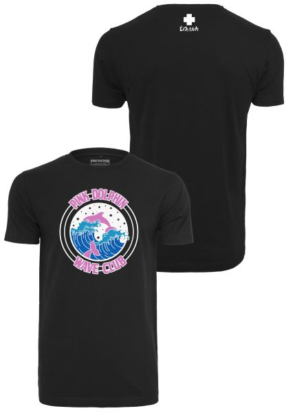 Pink Dolphin Club Crest Tee PD013-00007 Black