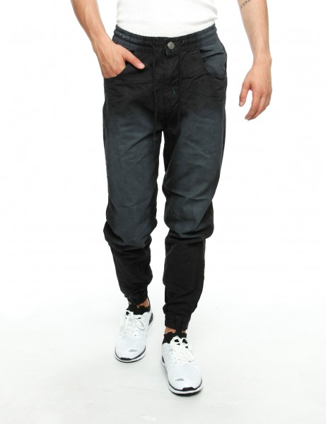 Royal Blue Jogger Jeans 8394 Black