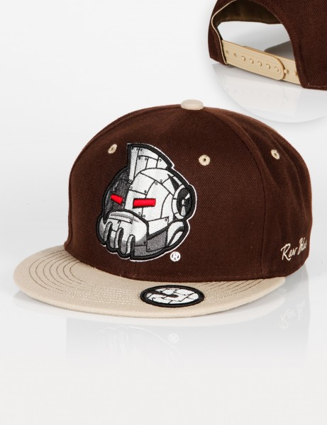 Iron Head Snapback Brown