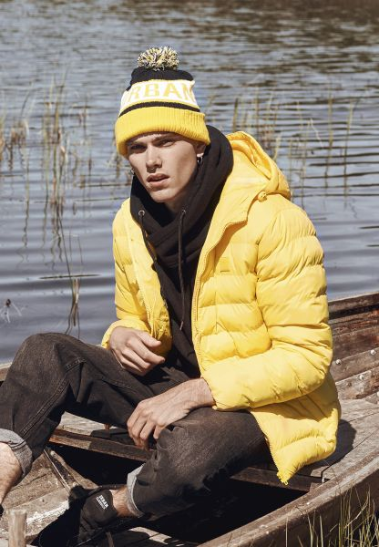 Urban Classics Basic Bubble Jacket TB863-01148 Yellow