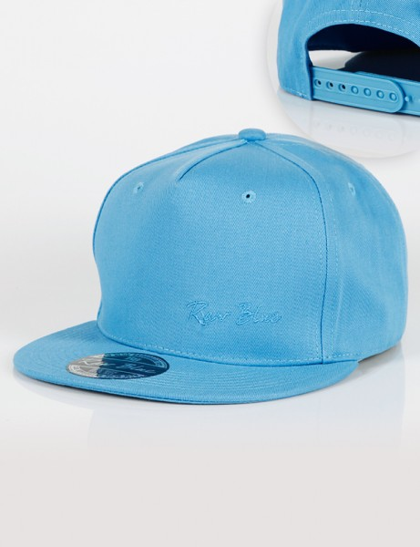 Signature Snapback Light Blue