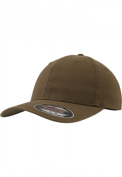 Flexfit Garment Washed Cotton Dad Hat Green