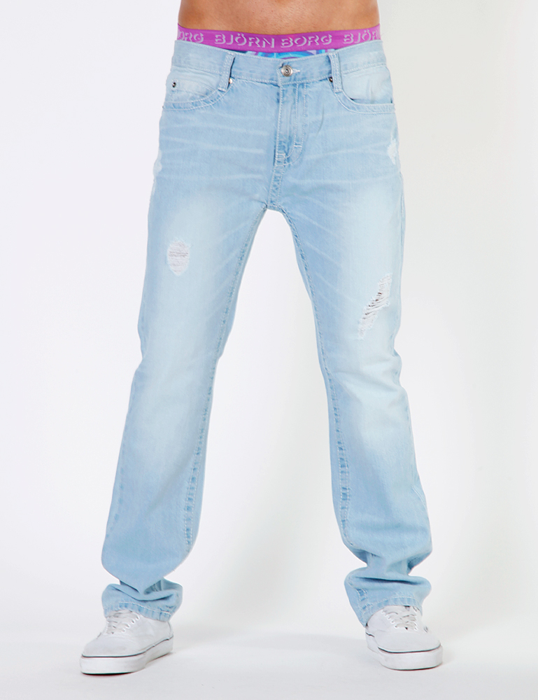Raw Blue Springfield Herren Jeans Baggys DJ 9208_Light_Indigo Hose Denim Hip Hop