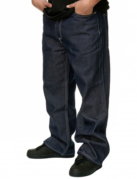 YLD Baggy Fit Jeans YLD303D Rinse Indigo